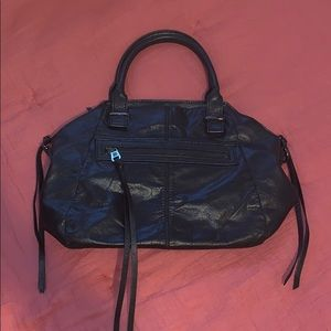 Elliot Lucca Black Leather Purse
